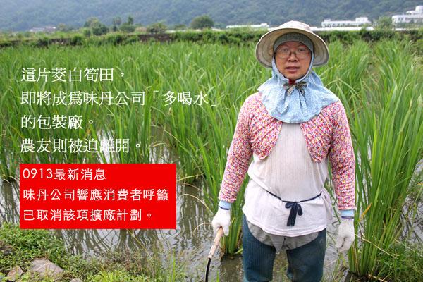 「多喝水」滅農?財團爭農地,玫瑰與茭白筍小農何去何從?