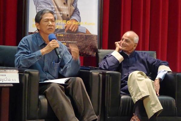 經濟不只GDP,印度學者Kumar問馬總統:你懂不懂經濟是什麼?