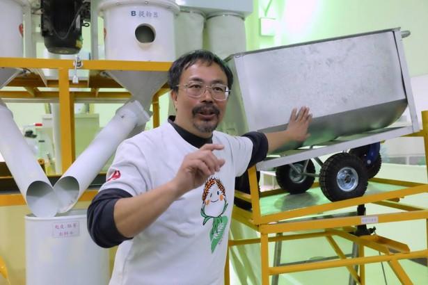 喜願成立有機製粉所 綠能發電推動小麥產業