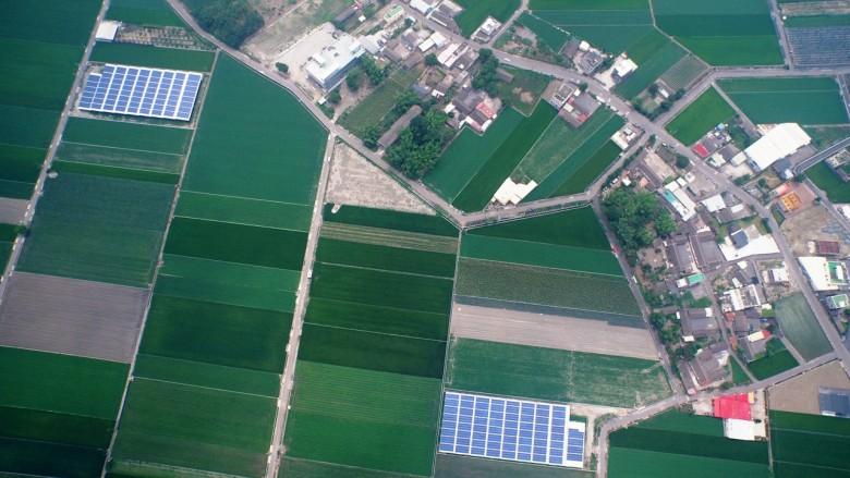 雲林縣為國內農地種電面積最大的縣份。(圖/蔡嘉陽攝影)