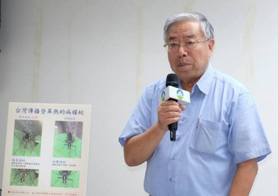 台大昆蟲學系名譽教授徐爾烈。(攝影/郭琇真)