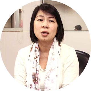 台灣金屬表面處理工業公會總幹事吳文蘭 攝影者孔德廉