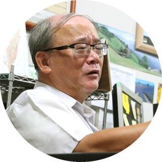 台大農化系陳尊賢教授 攝影者 孔德廉