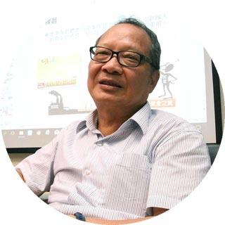 台大環工系張尊國教授 攝影者 孔德廉