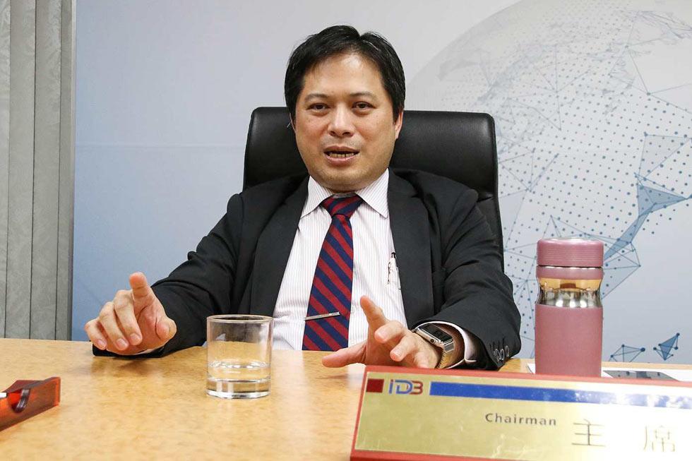 前工業局局長吳明機攝影者 孔德廉