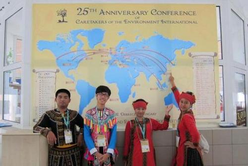 屏北高中小清華學員 將部落傳統知識推向國際