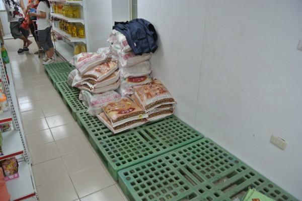 蘭嶼超市的米