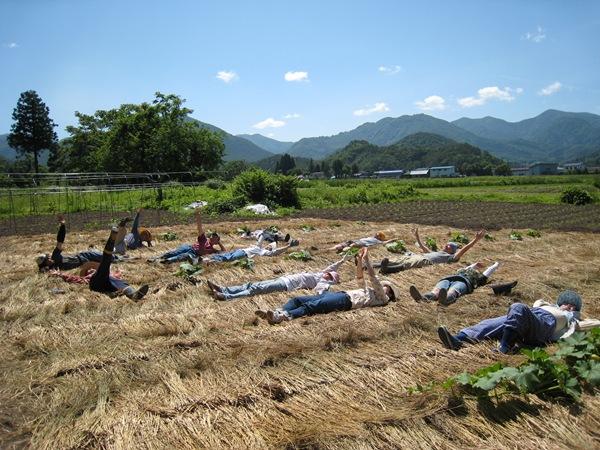 5田園集體創作大合照,是儀式也是藝術。