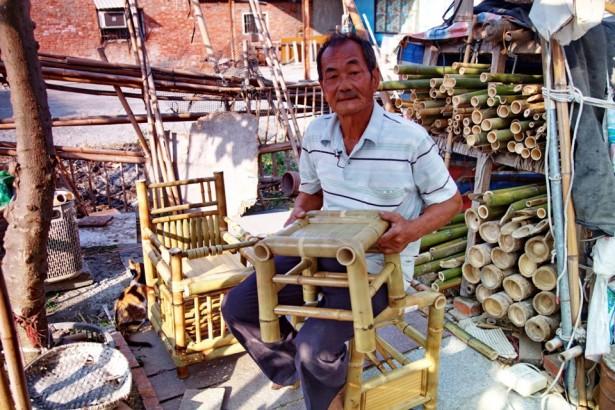 【公民寫手】水林鄉竹椅師王瑞琳  融合創新與古法竹編子母椅