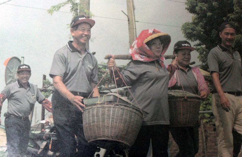蔡財興不只要復育西螺黑豆,更要將黑豆打造成西螺的文化產業特色。(照片/王德寬提供)