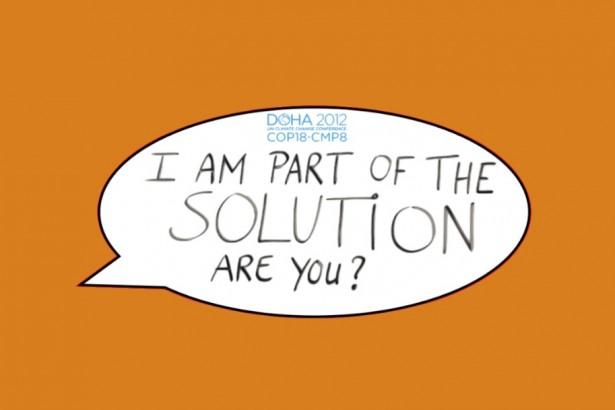 【公民寫手】【COP18】活動響應 – We are part of solution?Are you?