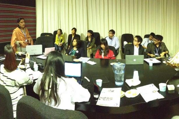 【公民寫手】【COP18】面對談判高牆 亞洲青年攜手群策未來