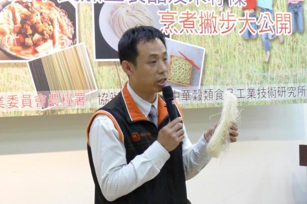 新竹米粉百年產業毀於一旦?總幹事蔡勝興說分明