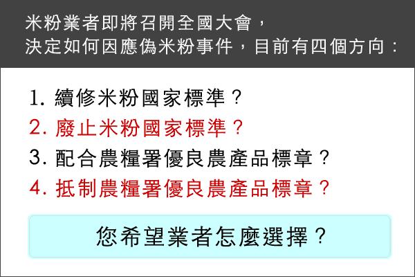 真偽米粉的十字路口 百年基業何去何從?周日新竹見分曉