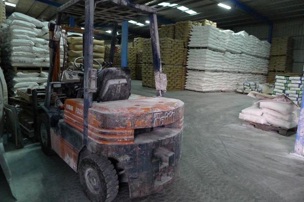 莊家倉庫堆的不再是米,而是從世界各地進口來的植物澱粉