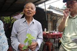 78歲的何春福在外工作20幾年,看到火金姑跟著他一起回家很開心