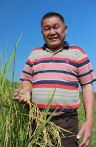 因為發生農藥中毒從鬼門關前走一遭,陳家成20多年前改行有機農法。