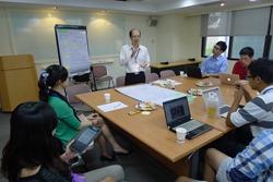 為了蒐集多方意見,-開放食庫-和台北市電腦公會合作,召開圓桌會議,希望能更瞭解消費者和業界需求