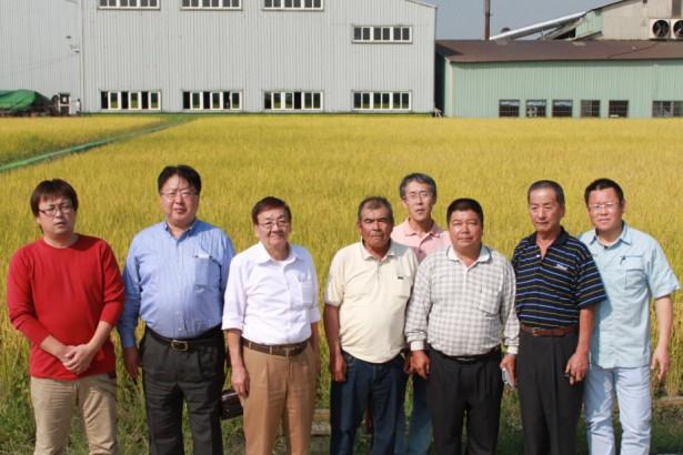 日本稻作菁英與台灣神農獎得主的TPP對話