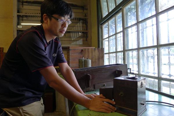 劉建甫發現磯永吉手稿,畢業後又意外成為磯小屋的管理者。。.JPG