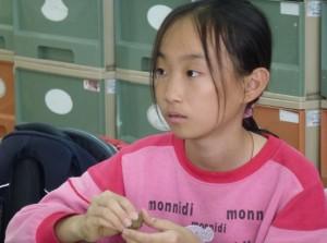 郭子憶現在就讀屏東縣四維國小六年一班。 提供/郭子憶