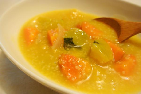 【公民寫手】用可愛的糯小米做冬日濃湯