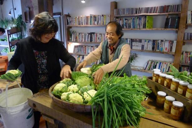 舊碾米廠翻修,小間書菜滿滿農村人情味