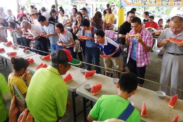 灣寶西瓜一期一會 慶祝土地免徵收