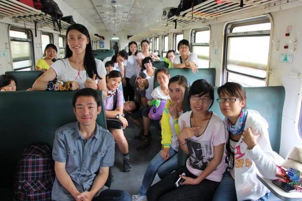 最美的鄉村風景—TFC2011級支教志願者修業旅行