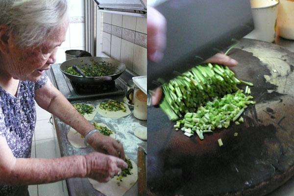 【公民寫手】外婆的韭菜盒