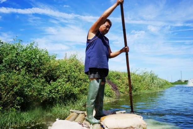 自創無毒水產銷售平台 阿麟師帶動10多位青年返鄉