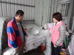 芊馨實業社的豆製品乳化劑,新北市目前共有六家下游廠商使用。 提供/新北市衛生局