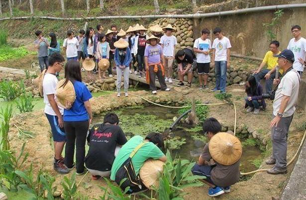 為魚停工 水保局社區居民協力 讓台灣白魚移居避難