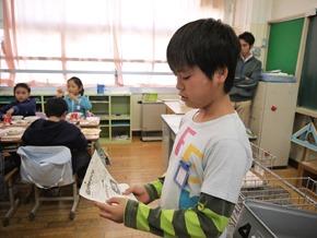 每天都會介紹當天的營養午餐,這天是魚的西京燒
