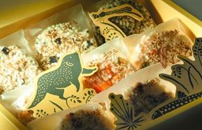 和禾米香及包裝是生產班的第一款環境解說產品--人禾基金會提供