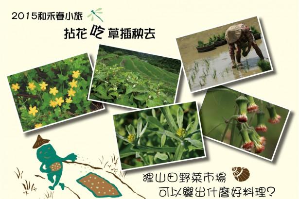 【公民寫手】— 貢寮【和禾春小旅】,拈花吃草插秧去 —