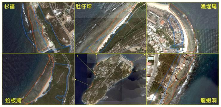 小琉球自然人文生態景觀區位置圖 (交通部提供)