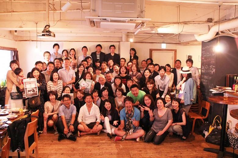 大家都是擁有共同目標的夥伴,北海道食通信的創刊派對,東北、東松島等其他的主編也主動前往參加