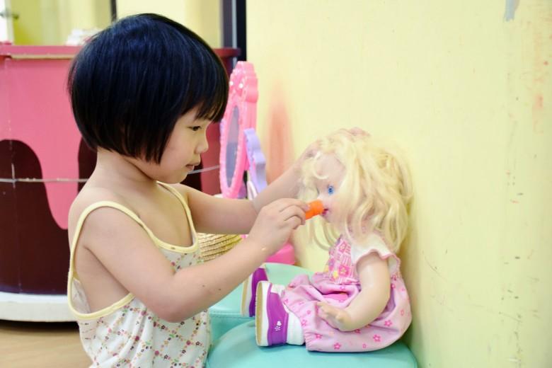玩具圖書館提供數十種乾淨、安全的二手玩具給你玩,不再讓爸媽傷腦筋。(攝影/潘子祁)
