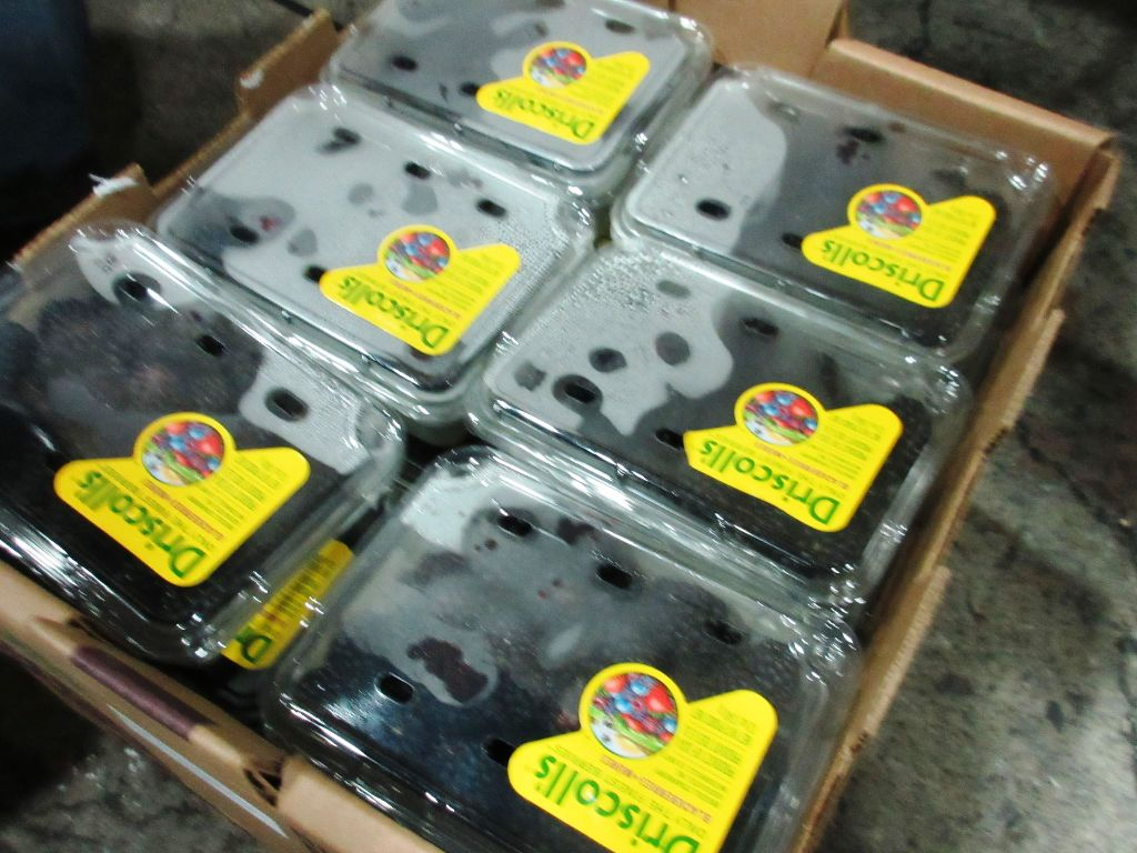 好事多進口之美國莓果產品。(圖/食藥署提供)
