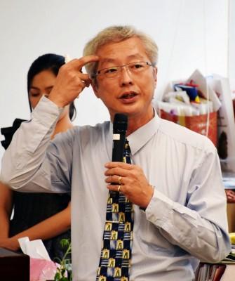 台灣海洋大學水產養殖學系副教授冉繁華表示,養殖魚種最怕近親繁殖,因此希望蒐集更多海中魚苗,並透過人工放流、增加基因庫。(圖/潘子祁攝影)
