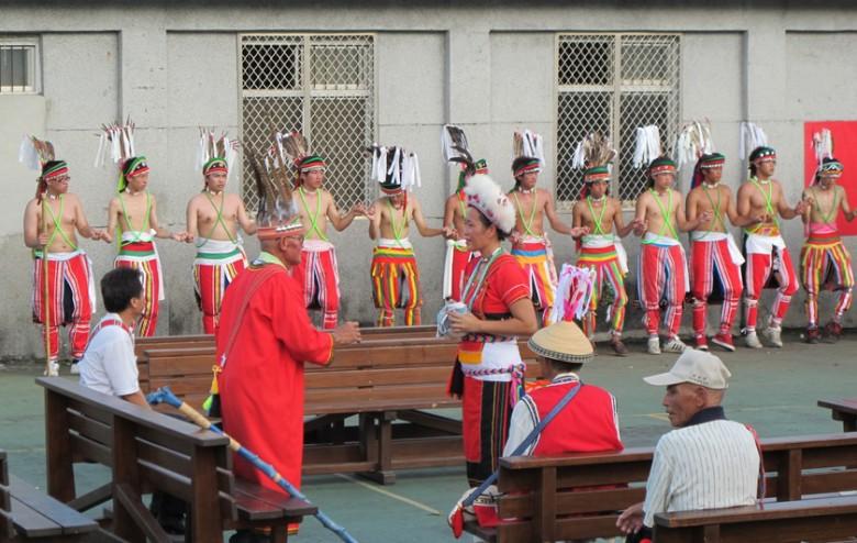 港口部落的Ilisin祭典。(花蓮縣文化局)