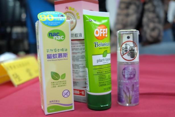 許多防蚊液標榜天然精油,但不確定是否有真正的防蚊效果。(圖/林慧貞攝影)