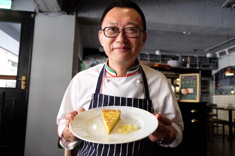 義大利菜名廚王嘉平。(圖/郭琇真攝影)