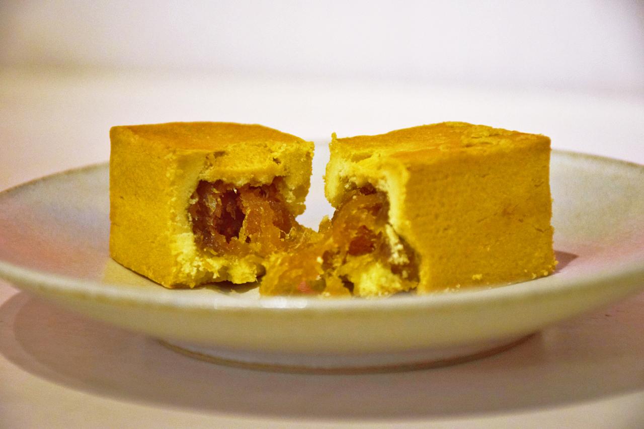 微熱山丘鳳梨酥是國內外知名的伴手禮。(圖 / 潘子祁攝影)