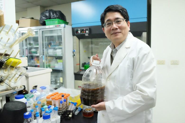 謝奉家手上的液化澱粉芽孢桿菌Ba-BPD1是他的得意之作