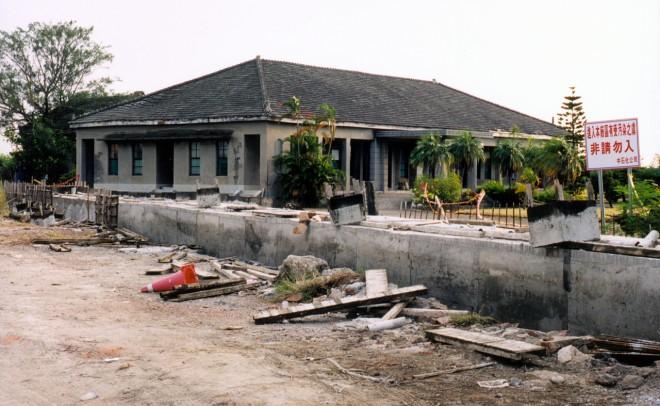 2003年污染事情剛確立的中石化安順廠一角。