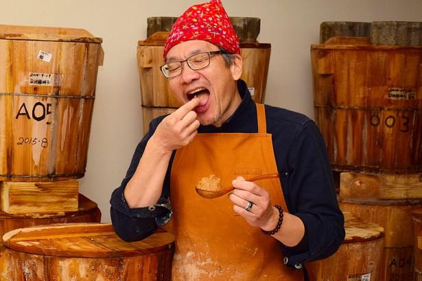 熱血大叔做味噌 本土黃豆池上米釀造