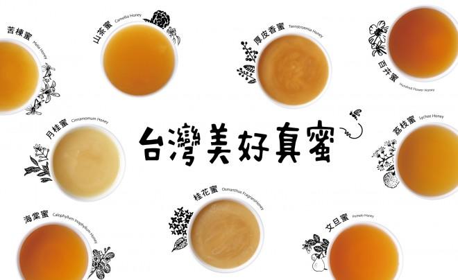 infographic_各種風味的蜜