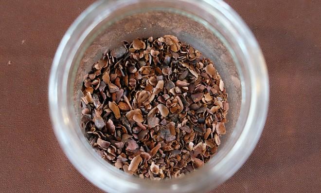 可可豆的外殼,可以直接泡茶